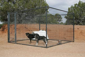 Free-standing fence