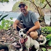 Nick Lippincott and dog