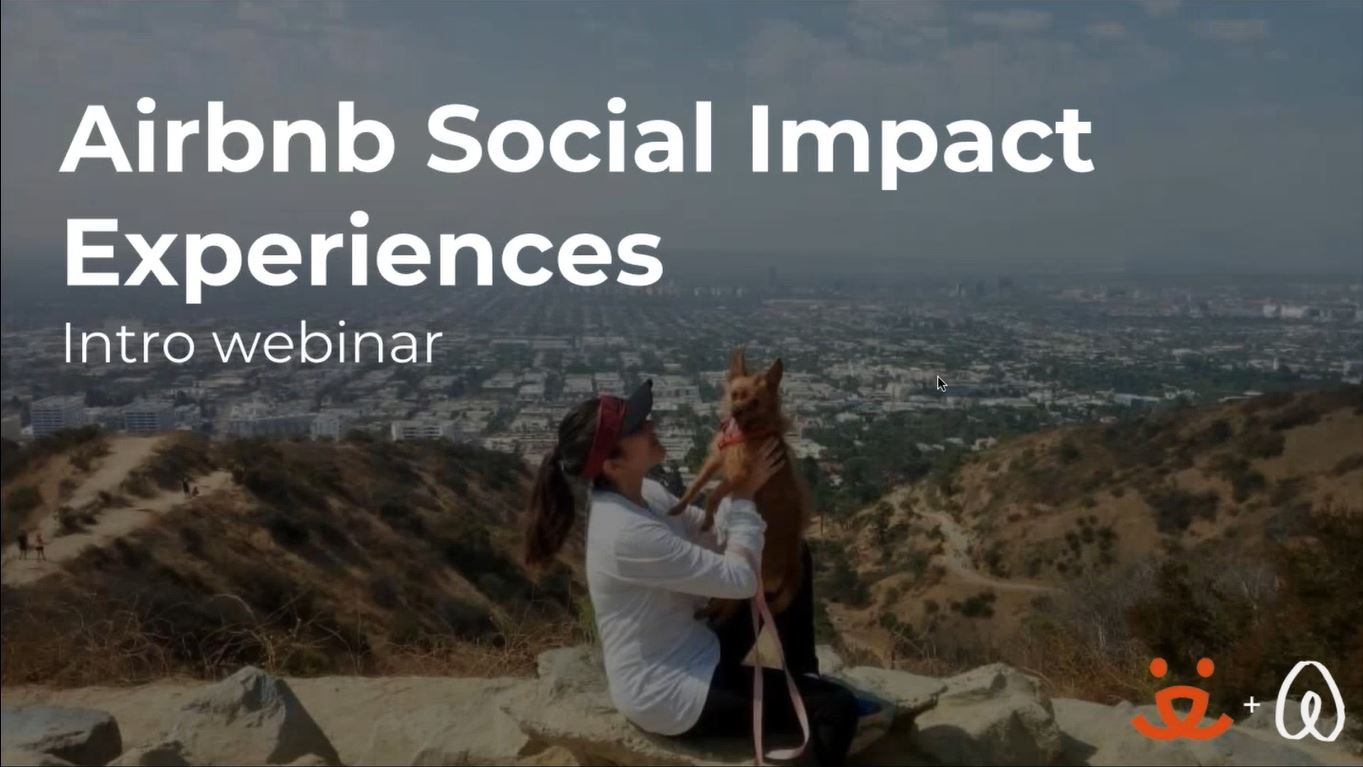 Airbnb Social Impact Experiences